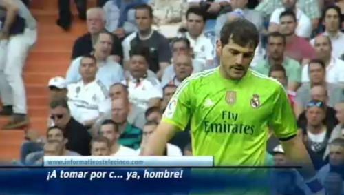 Casillas satul de injurii