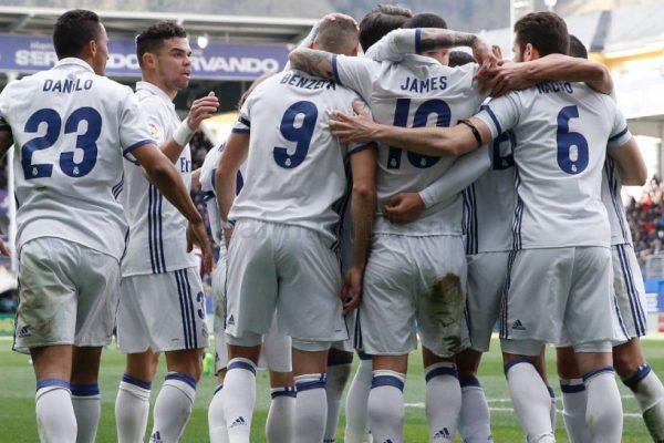 Eibar - Real Madrid 1-4