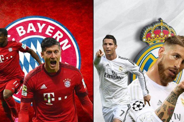 Bayern-Real Madrid 2017