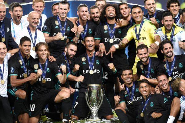 Real Madrid Supercupa Europei 2017