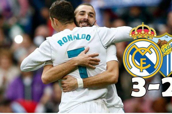 Real Madrid - Malaga 3-2