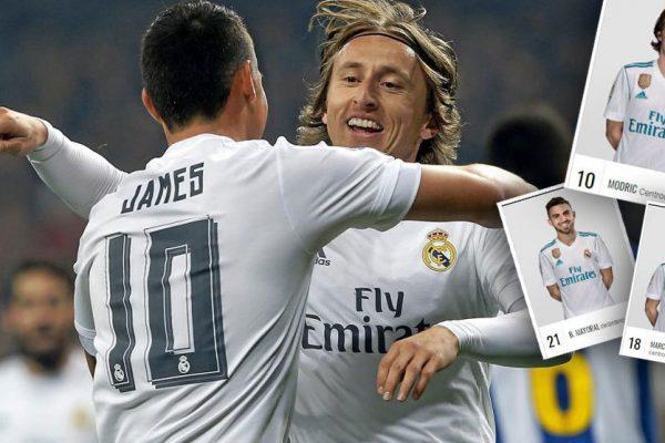 Numere jucatori Real Madrid