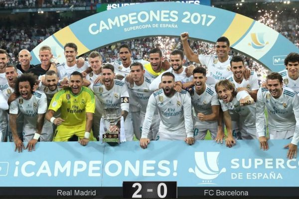 Real Madrid Supercupa Spaniei 2017