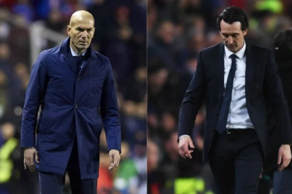 zidane vs emery
