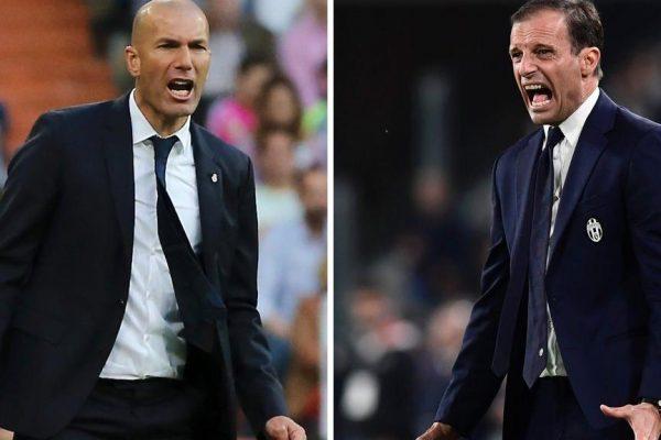 Real Madrid-Juventus Torino