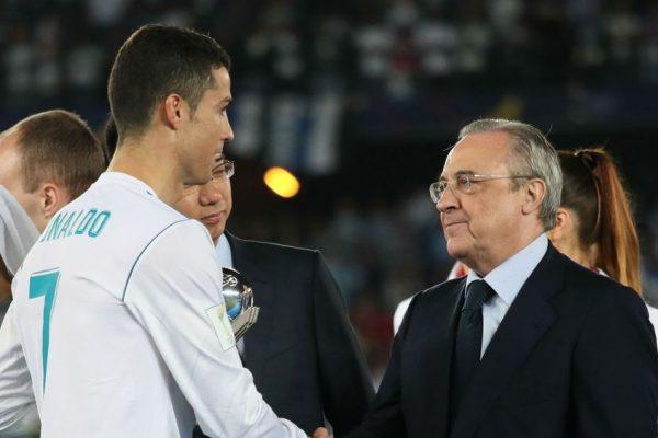 Cristiano Ronaldo si Florentino Perez