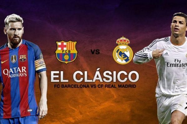 El Clasico Barcelona - Real Madrid